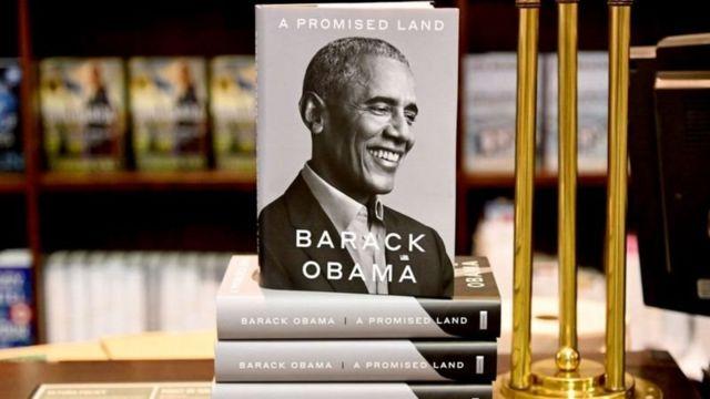 """Obama'nın bu hafta çıkan """"Promised Land"""" (Vadedilmiş Toprak) adlı kitabı"""