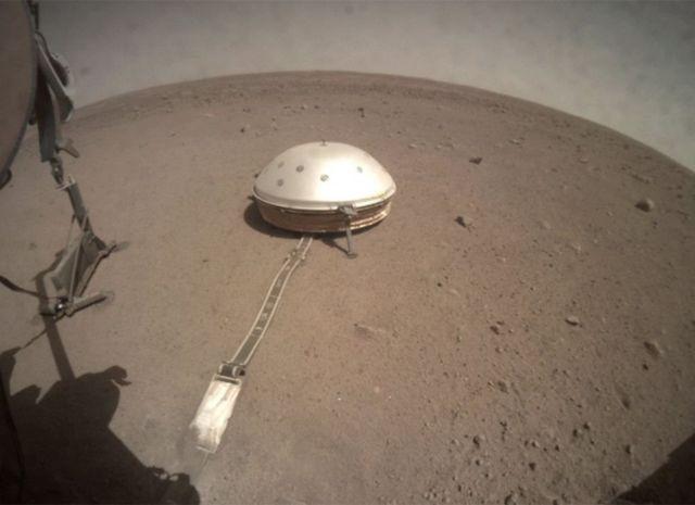 Аппарат на Марсе