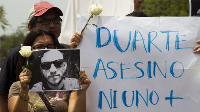 """El gobernador Javier Duarte dice que las acusaciones en su contra son """"denuncias sin fundamento"""" y """"calumnias""""."""
