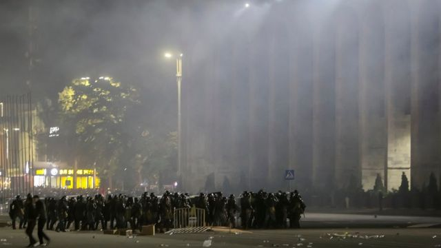 Столкновения в Бишкеке