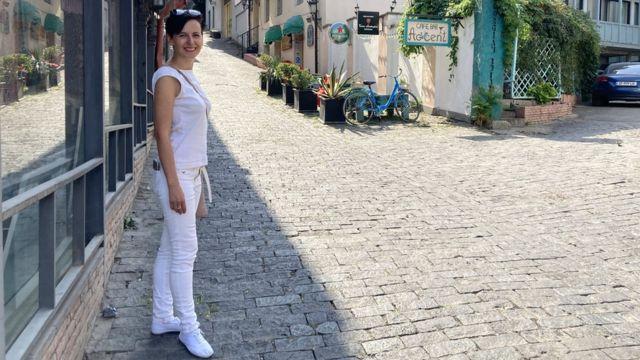 Елена Тризно в Тбилиси