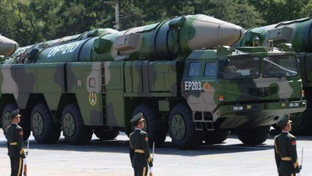 东风-21D导弹