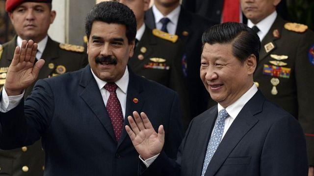 Nicolás Maduro y Xi Jinping en 2014