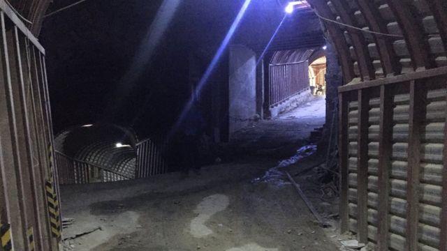 Uno de los túneles construidos bajo Guta Oriental