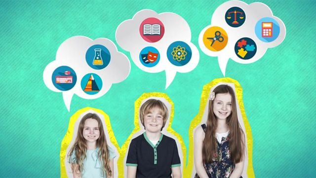 3 niños de diferentes tamaños con burbujas indicando para qué son buenos