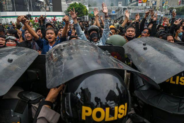 unjuk rasa Jakarta