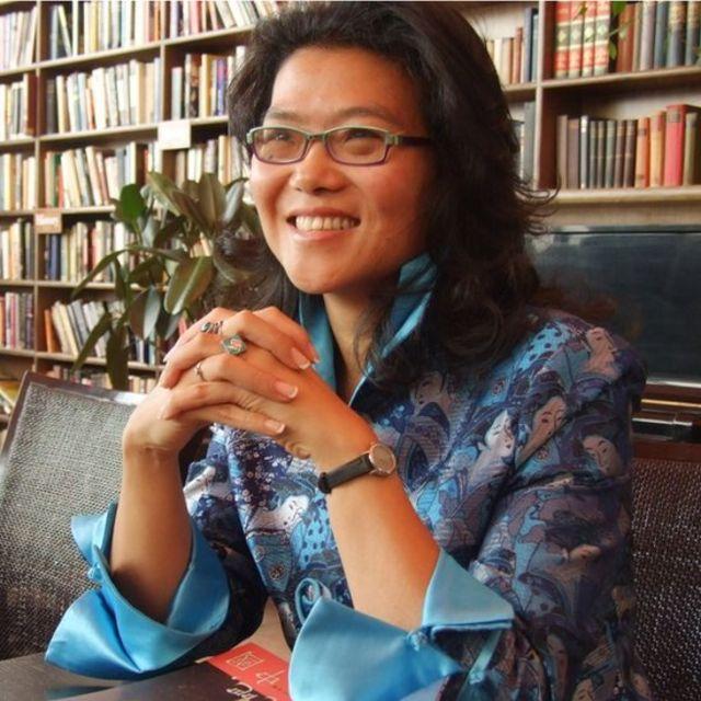 Escritora Lijia Zhang