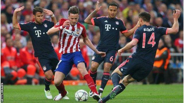 Bayern Munich ikina na Atletico Madrid