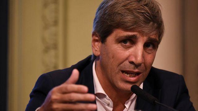 El ministro de Finanzas de Argentina, Luis Caputo