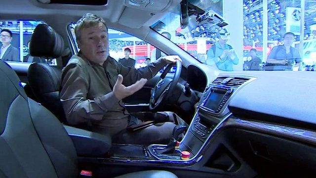Stephen McDonell in a driverless car