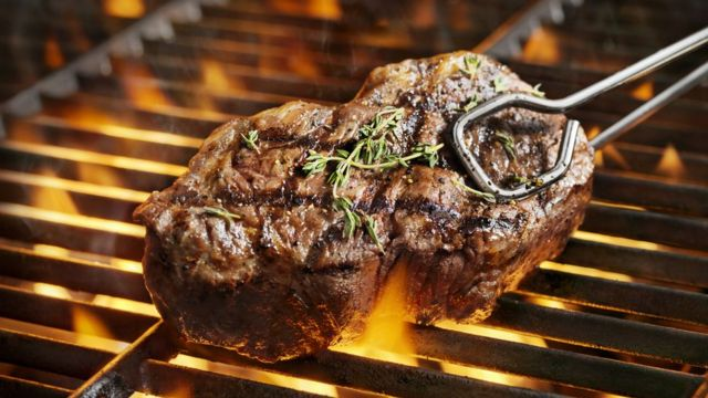biftek na žaru