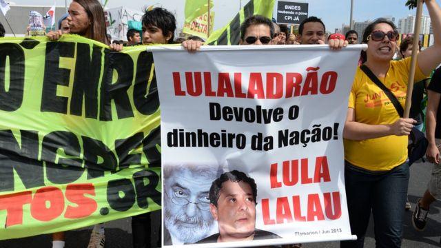 Awọn alatako Aare Lula