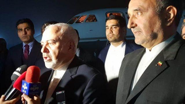 وزیر خارجه ایران برای دیدار با مقام های پاکستانی وارد اسلام آباد شده است