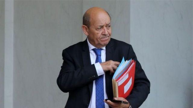 """ژان ایو لو دریان، وزیر خارجه فرانسه گفته است """"شکست توافق هستهای ایران به جنگ تسلیحاتی در منطقه منجر خواهد شد"""""""