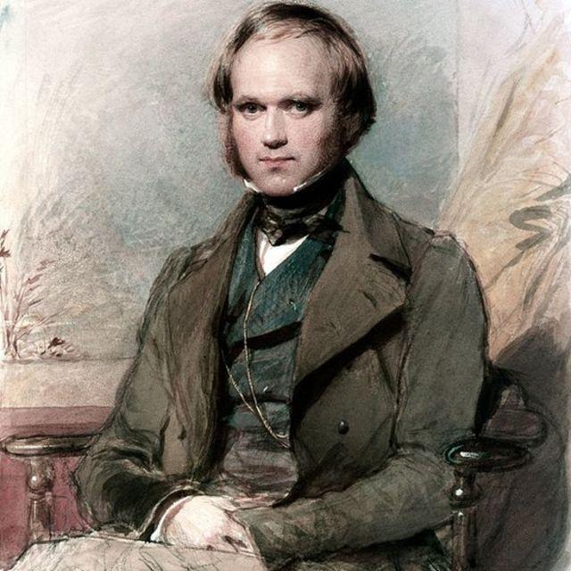 Charles Darwin de joven