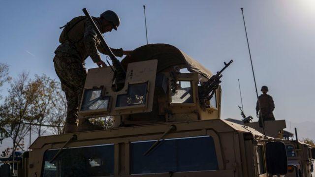 Учения в афганской армии, ноябрь 2020 года