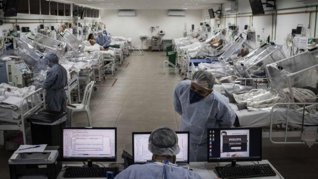 UTI em hospital em Manaus
