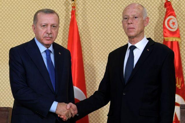 أردوغان وقيس سعيد