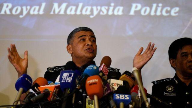 Malezya polis şefi Halid Ebu Bekir
