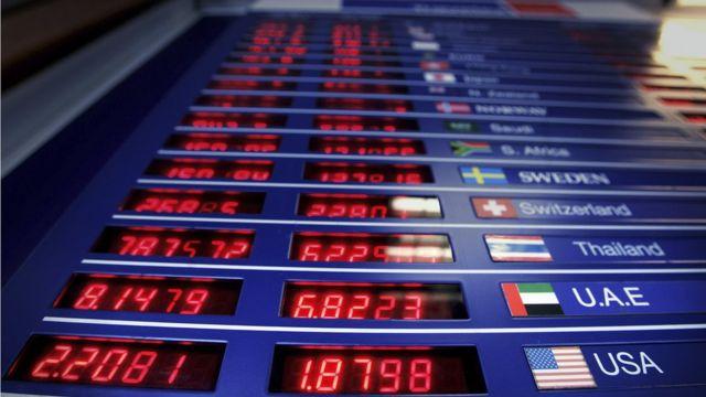 Cotización de la libra en abril de 2007