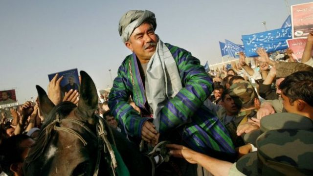 ژنرال دوستم در اوج قدرت خود در ۱۹۹۷، در شمال افغانستان قسما یک اداره مستقل ساخته بود، تمامی امور این مناطق را کنترل میکرد و پول جداگانه چاپ کرده بود