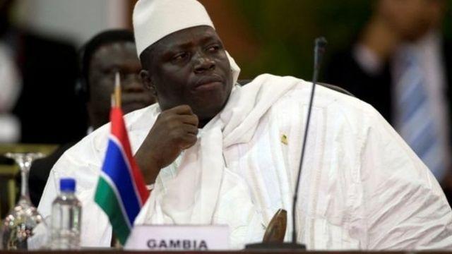 La Gambie n'était pas propice à l'exercice du métier de journaliste durant le magistère de Yahya Jammeh (en photo).