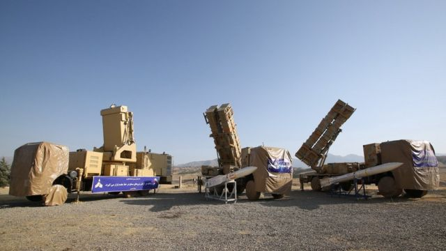 Iran missile battery