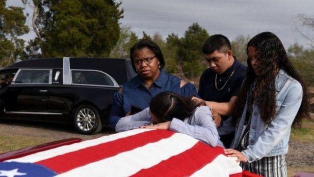جنازة أمريكية