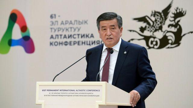 President Jeenbekov