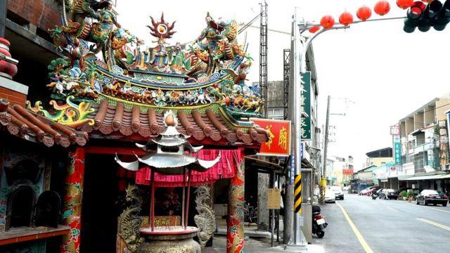 台湾庙宇。