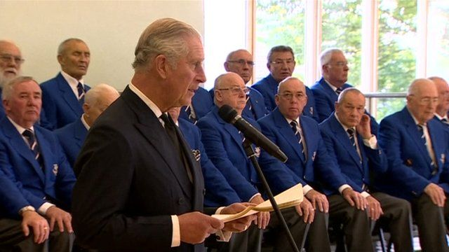 """Prince Charles tells a reception in Aberfan how he recalled the """"appalling"""" tragedy and delivered a heartfelt message from the Queen."""