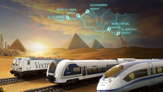 مشروع القطار الكهربائي