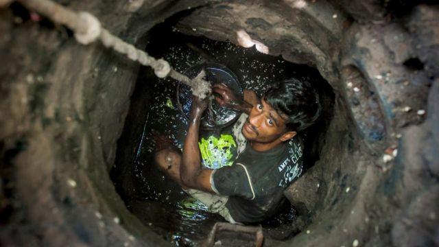Ассенизатор в Дели