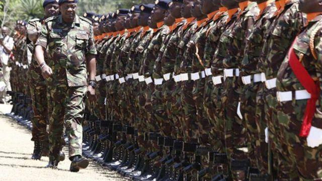 Milatariga Kenya waxay Soomaaliya gudaha u galeen 2011-kii