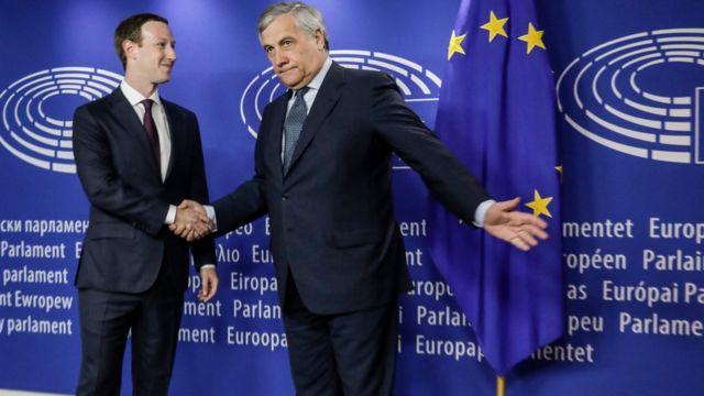 Zakerberg i Tajani