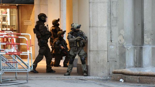 Fuerzas policiales tomaron el control