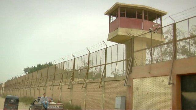 Juvenile detention centre in Egypt