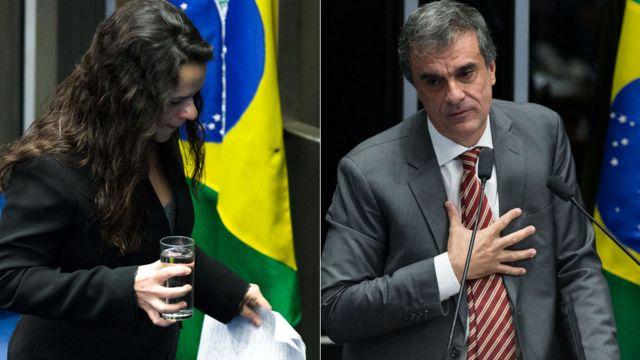 Janaína Paschoal e José Eduardo Cardozo saíram do Plenário com lágrimas nos olhos