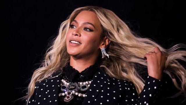 La cantante estadounidense Beyoncé