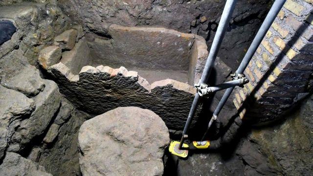 Drevna grobnica koja se povezuje sa Remulom, koji je po legendi, osnovao grad