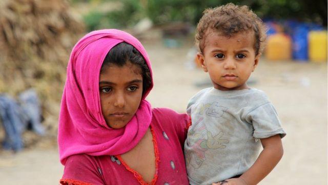 تقول الأمم المتحدة إن 22 مليون شخص في اليمن بحاجة إلى المساعدة نصفهم أطفال