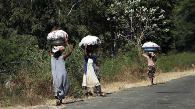 نازحون إثيوبيون صوب السودان