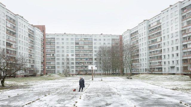 Две трети латвийцев живут в многоквартирных домах