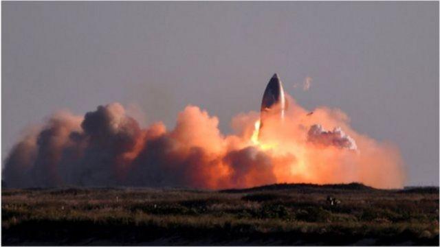 Starship မြေပြင်ကို ရောက်ခါနီးတဲ့ အချိန်မှာ အထောင် အနေအထားအတိုင်း ပြန်ဆင်းနိုင်အောင် တွန်းတင်တဲ့ အင်ဂျင်ပါဝါကို သုံးမှာဖြစ်ပြီး လတ်တလော စမ်းသပ်မှုမှာတော့ အရှိန်မထိန်းနိုင်ဘဲ ပေါက်ကွဲမှု ဖြစ်ခဲ့