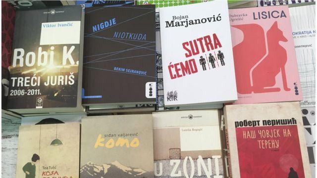 Knjige autora iz bivše Jugoslavije u književnosti