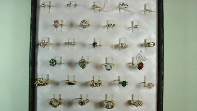 Jewellery s recovered by police in Hatton Garden heist