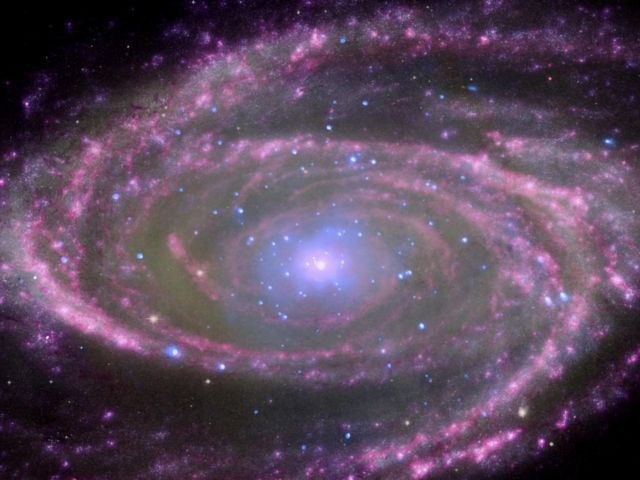 At the centre of spiral galaxy M81 is a supermassive black hole about 70 million times more massive than our sun