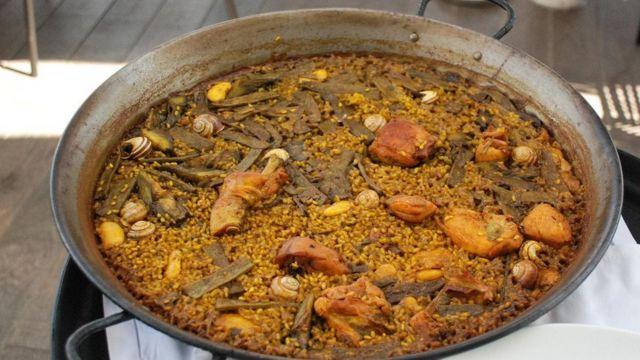 瓦伦西亚炖饭