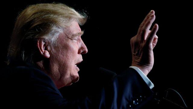 دونالد ترامب مرشح الحزب الجمهوري في انتخابات الرئاسة الأمريكية