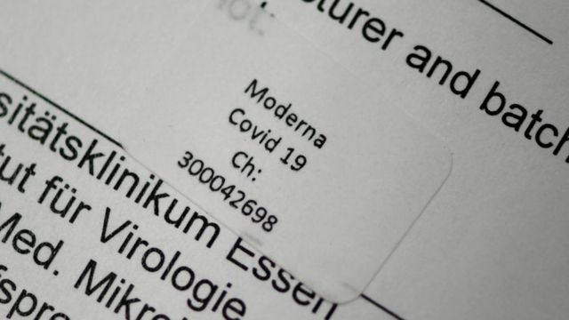 свидетельство о вакцинации в Германии